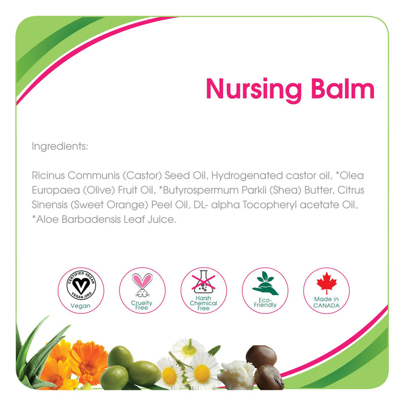 Health & Safety,Lotions,Aleva Naturals, Aleva Nursing Balm 1.7 fl.oz / 50 ml, nursing, balm, baby balm, nipple, dry nipple, dry skin, mother, maternity, cracked nipple