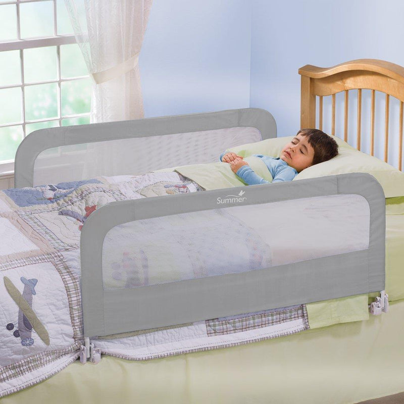 Health & Safety,Rails & Guards and Bedding:Sleep Accessories, Textiles Crib Rail, bed rail, bedrail, infant bedrail, safety rail, safety bedrail, Double Folding, double bedrail, both side bedrail