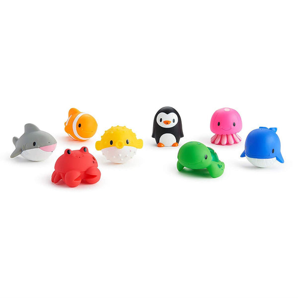 Munchkin Ocean Bath Squirt Toys 8 in a package