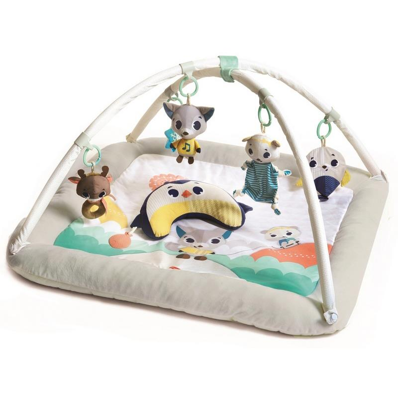 Polar Wonders Plush Gymini, Gymini Tiny Love activity gym, Tiny Love activity mat,