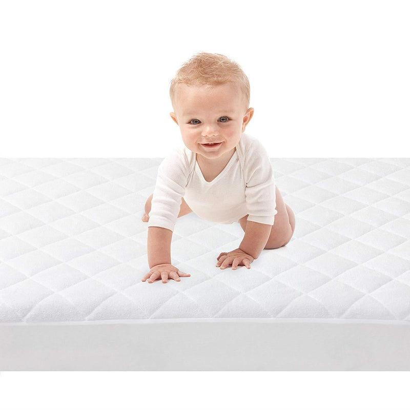 Bedding, Baby Works Quilted & Fitted Bamboo Mattress Protector, Baby Works, Quilted & Fitted Bamboo Mattress Protector, Baby Works Fitted Bamboo Mattress Protector, Baby Works Quilted Bamboo Mattress Protector, Baby Works Quilted & Fitted Mattress Protect