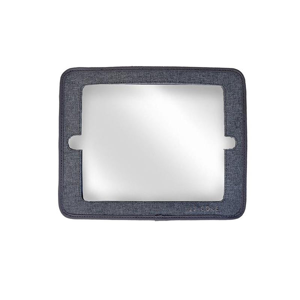 JJ Cole, jj, cole, mirror, 2-in-1 Mirror, car mirror, mirror for car, ipad holder, tablet holder, car accessories, back seat mirror, backseat mirro