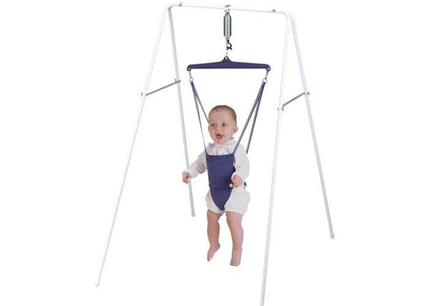 Jolly Jumper Exerciser on a Stand