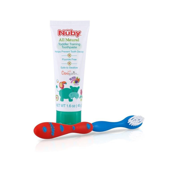 Nuby Toddler Training Toothpaste and Toothbrush