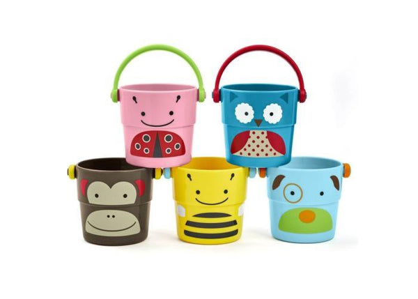 Bath & Potty, Bath Accessories, Skip Hop Buckets bath toy tub toy bathtime toy bath time toy bath scoop bath bucket tub bucket shower bucket kid bucket bucket pour bucket stackable bucket