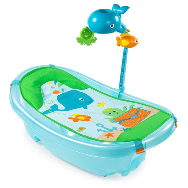 summer infant, ocean, buddies, newborn tub, toddler tub, bath tub, tub, baby tub, baby bath, infant bath, ocean buddy, buddy