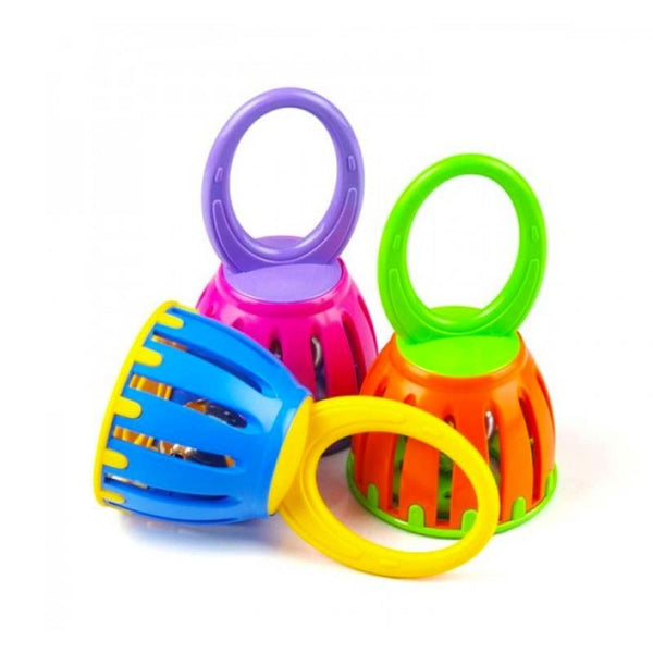 halilit, cage bell, bell, infant toy, shaker, tambourine