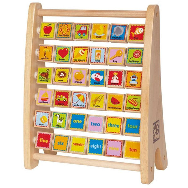 Hape Alphabet Abacus, Hape Abacus, Hape Abacus Toy, Hape Toy, Alphabet Abacus, Wooden Alphabet Abacus, Toy Abacus