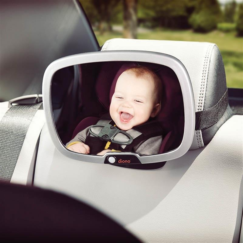 Car Seat Accessories, Diono, Easy View Plus, Diono Easy View Plus, mirror, car mirror, backseat mirror, travel accessory