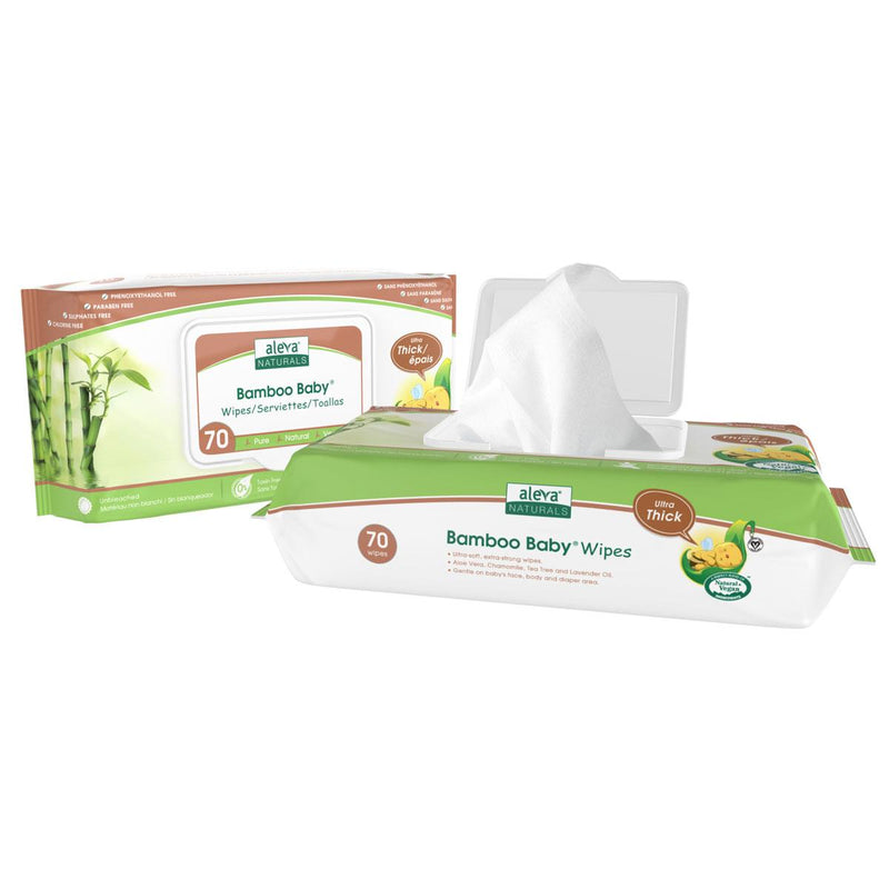Bath and Potty, Diapering Accessories, Aleva Naturals Bamboo Baby Ultra Thick Wipes, Aleva Naturals, Bamboo Baby Ultra Thick Wipes, Aleva Naturals Bamboo Baby, Aleva Naturals Ultra Thick Wipes, Ultra Thick Wipes, Wipes, Baby Wipes