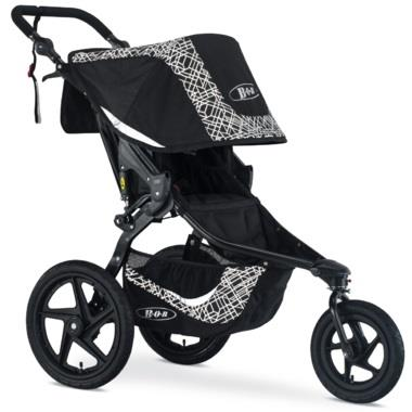 Bob Revolution Flex 3.0 Lunar Stroller, Air Filled Tires