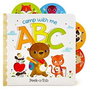 Camp with Me (Peek-A-Tab Book)