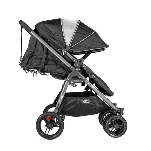 double stroller, stroller, valco, valcobaby, snap ultra, lightweight stroller, trendy stroller, denim stroller, ultra duo, snap ultra duo, duo snap