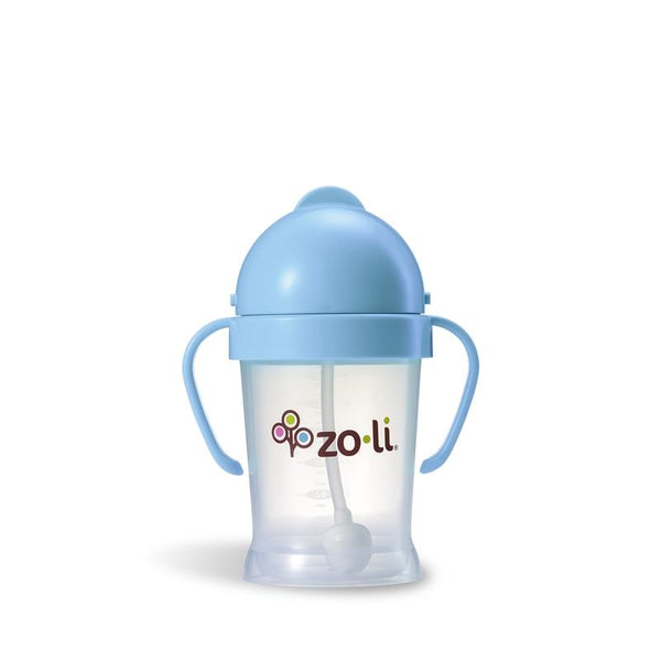 Feeding,Pacifiers & Teethers,Zoli Bot Sippy Cup 6oz Blue, back-to-school, 45631, 75792, 77153, 77154, zoli bottle, sippy cup, cup, toddler cup, straw cup, zoli, bot, zoli bot, Toronto, Ontario, Baby Store, Lil Niblets