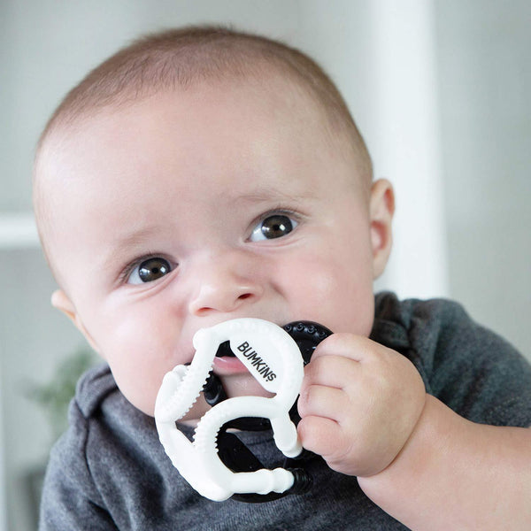 Bumkins Silicone Sensory Ball Teether