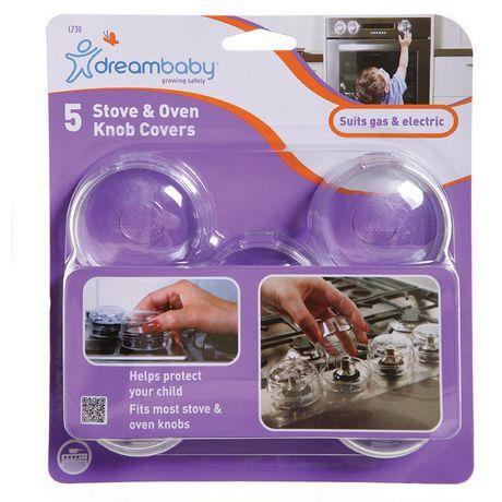 Dreambaby Stove and Oven Knob Covers 5pk