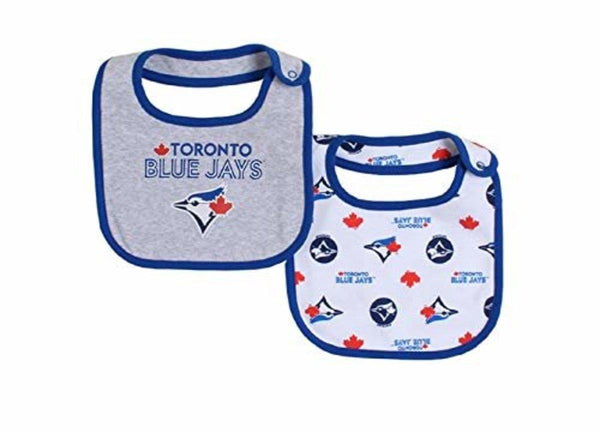 Snugabye Bib 2pk Blue Jays