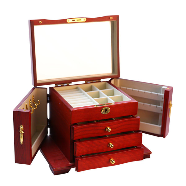 Wooden high-end storage box