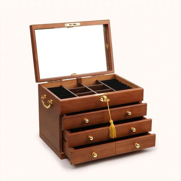 What's so good about a wooden vintage jewelry box