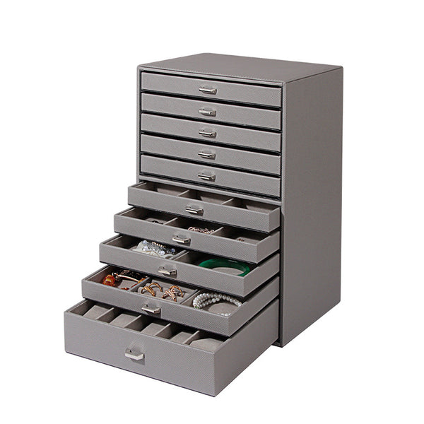 10-Layers Large Jewelry Box Organizer