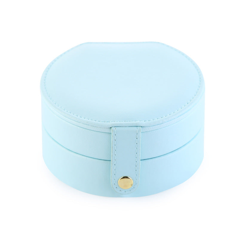 Portable Jewelry box with mirror