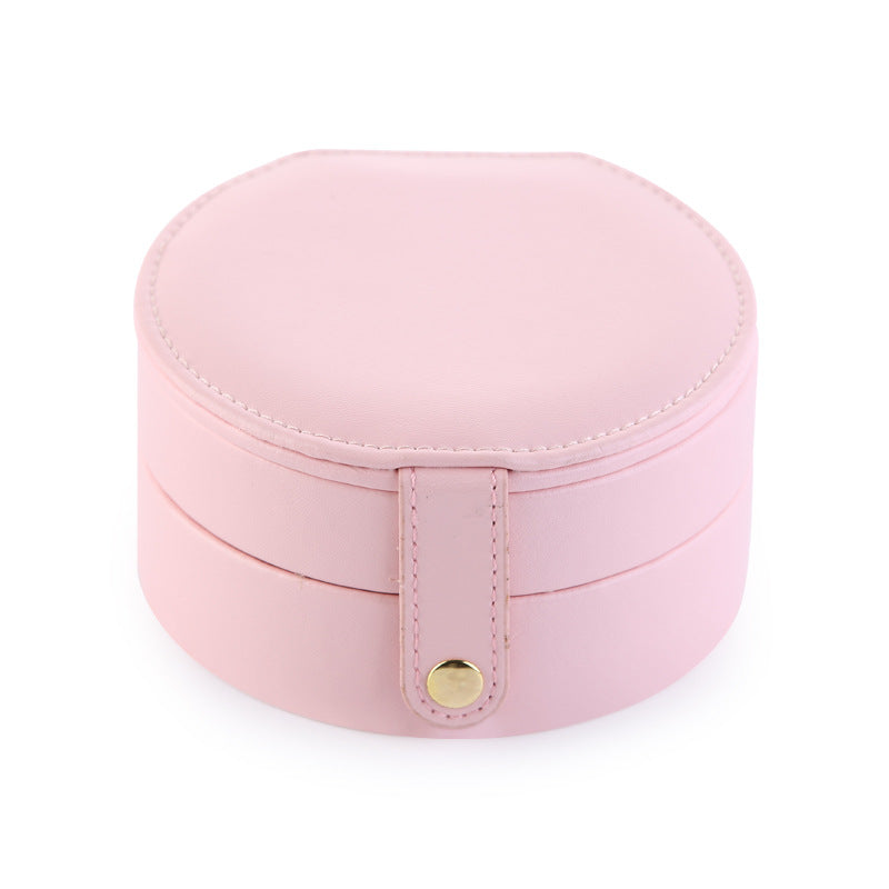 Portable Jewelry box with mirror - Nillishome