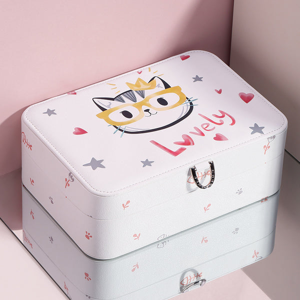 Cartoon Design Jewelry Package Box lovely jewelry organizer