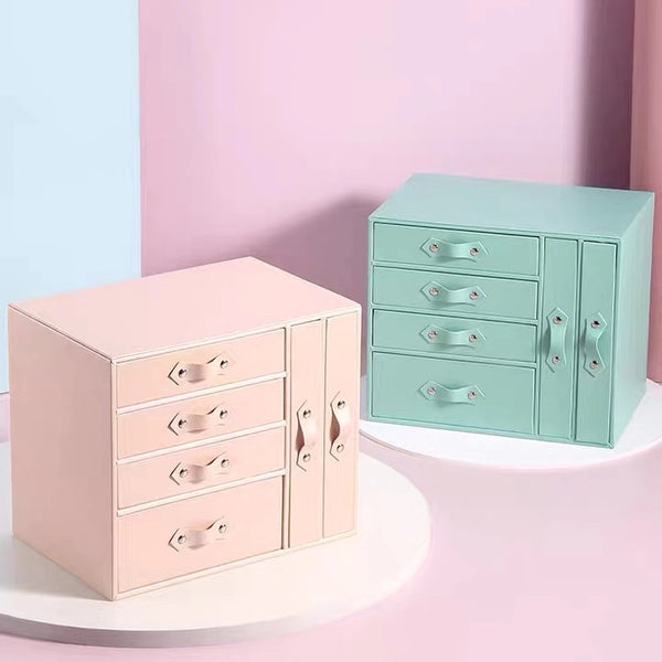 6 Drawers Jewelry Box Orgainzer Waterproof
