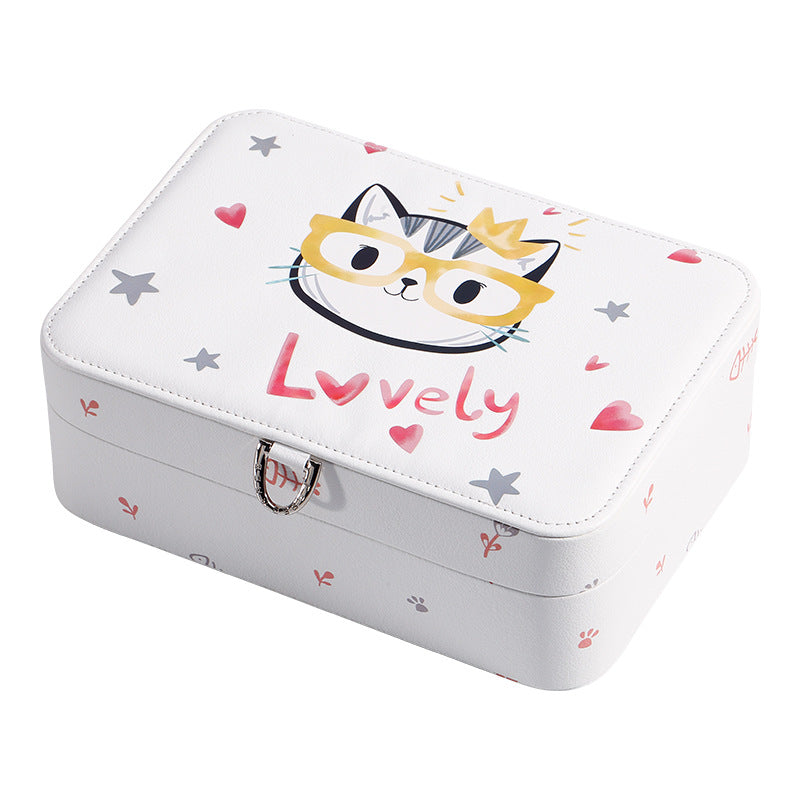 Cartoon Design Jewelry Package Box lovely jewelry organizer - Nillishome
