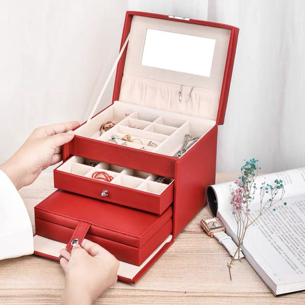 Jewelry Box With Lock included a portable jewelry case