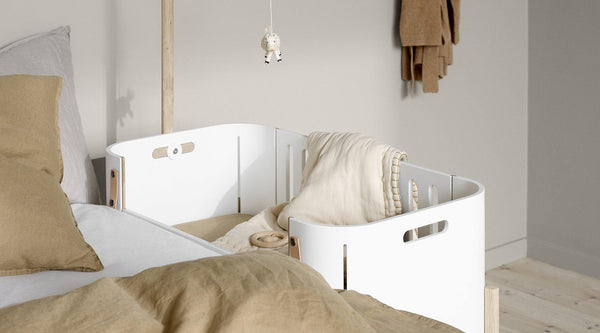 Wood co-sleeper og Wood bænk - Oliver Furniture