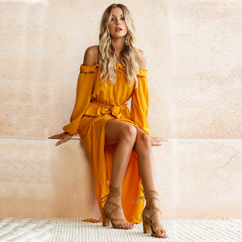 Briar Yellow Maxi Dress