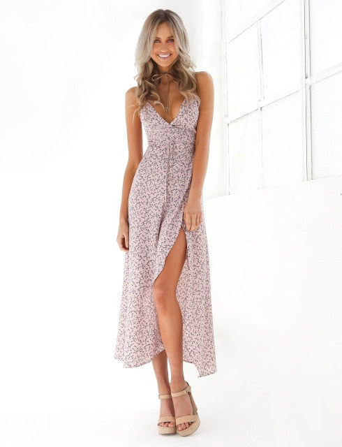 Athena Boho Maxi Dress