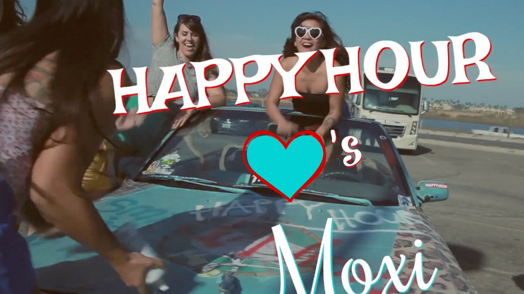 Happy Hour <3's Moxi Skate Heart on Shades commercial!!