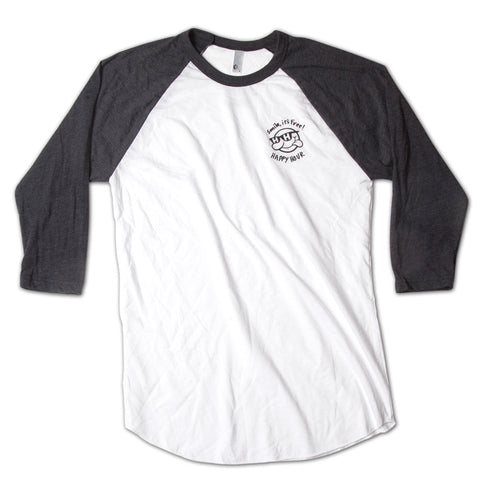Baseball Tee | Smile It's Free