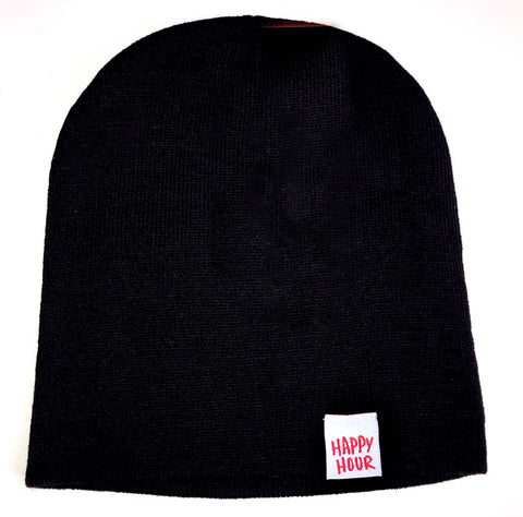 Beanie | Happy Hour Skully Black