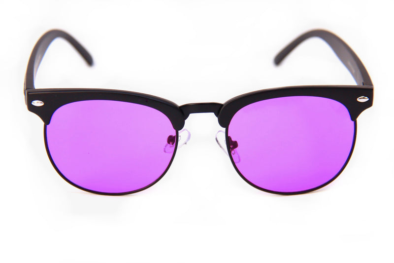 G2's | Black | Purple Lens