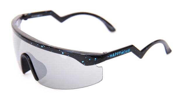 Accelerator | Black/Blue Splatter | Mirror