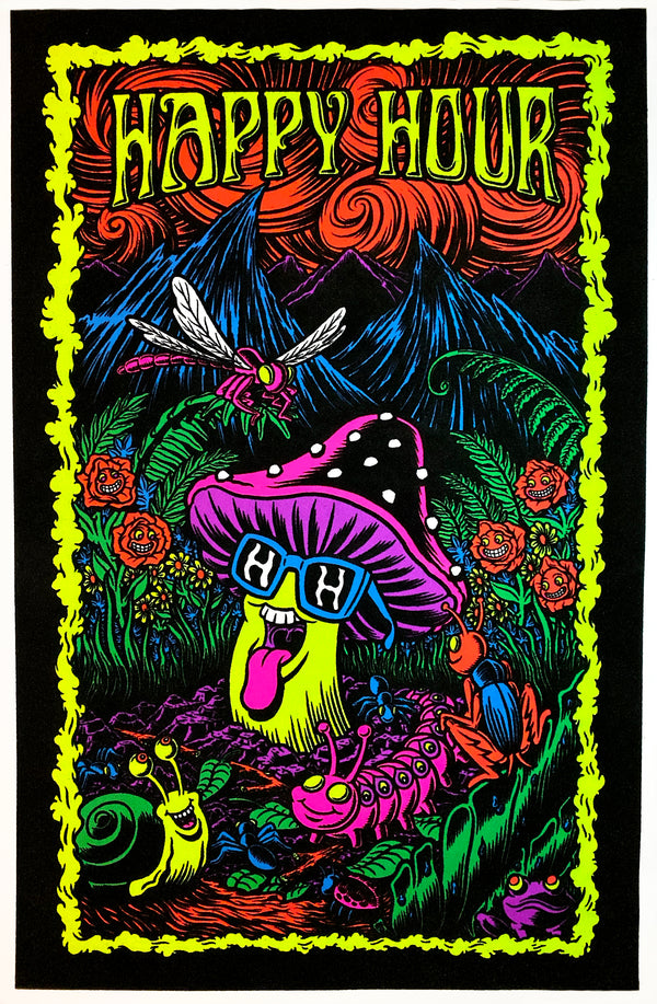 Black Light Poster