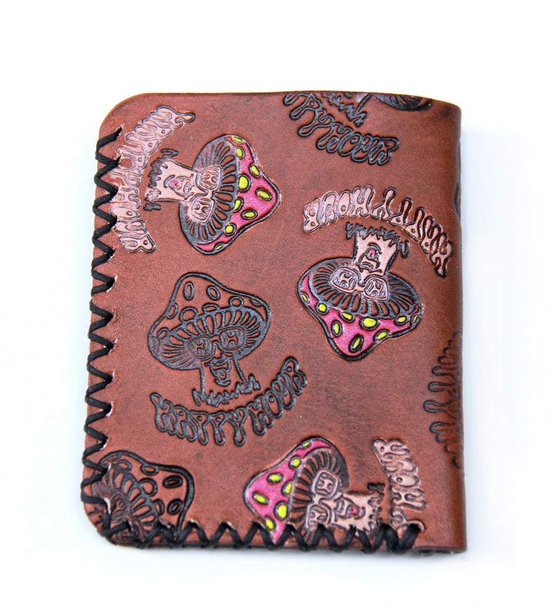 Wounded Knee X Happy Hour Trip Out Leather Card Holder
