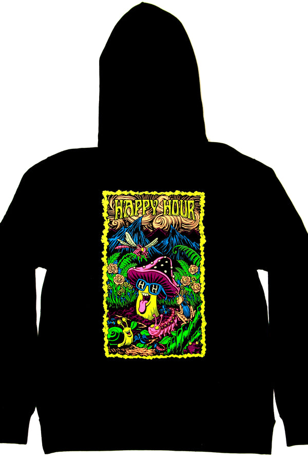 Hoodie | Black Light | Black