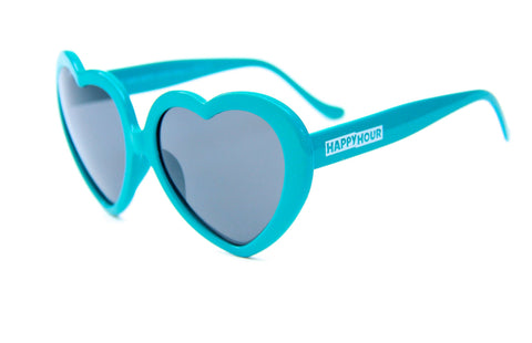 Heart Ons | Turquoise