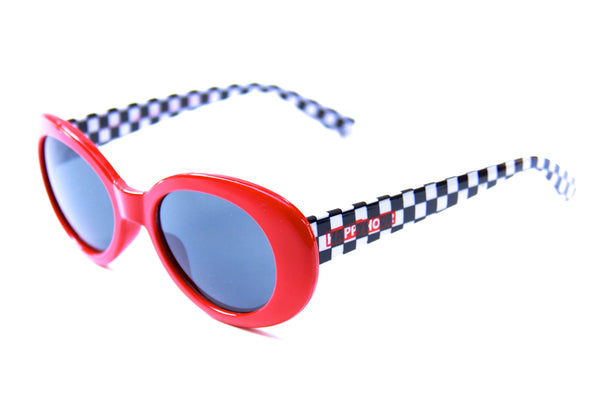 Beach Party | Red/Checkered