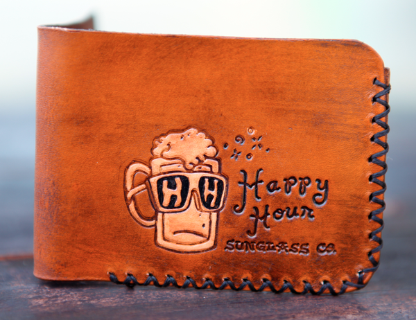 Wounded Knee X Happy Hour Billy Beer Leather Wallet