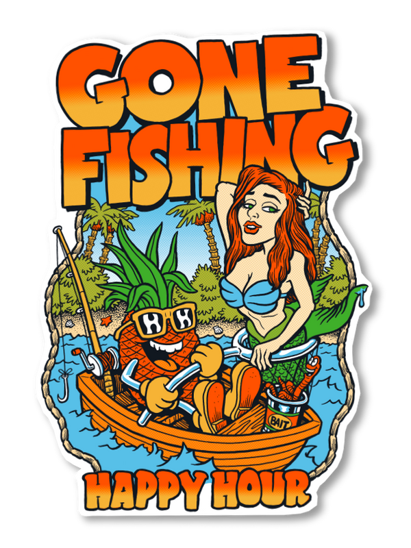 Sticker | Gone Fishing