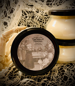 The Smell of Nightfall Candle *Fresh Lilac Scent* Inspired by The Crucible * Natural Wax Blend