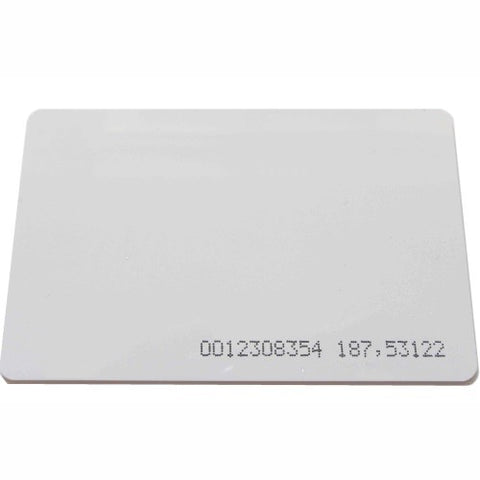 Proximity Card for use with KPX1000 and KPX2000<br>(Model: ACKP-HD-CARD)