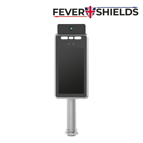 FEVERSHIELDS -  Thermal Camera Access Control System with Mask Detection, Thermal Temperature Detection on an LCD Display - Wall Mount<br><small>Model: HALO-W</small>