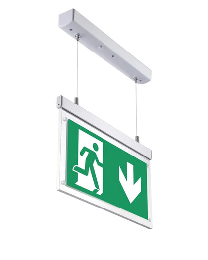 Hanging Drop Wire Exit Light 3W 3HRS Maintained<br>(Model: HN3M)