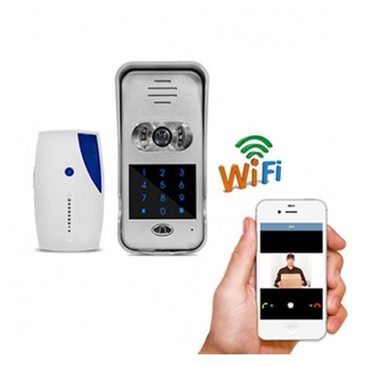 WIFI Video Door Bell with Keypad<br>(Model: HI3518E)
